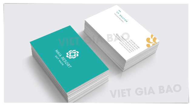 name card in chất lượng cao